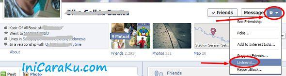 Cara Blokir Teman atau Unfriend di Facebook
