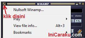 Download, Cara Install dan Mengganti Skins Winamp
