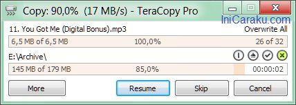 TeraCopy - Cara Mudah Meng-Copy File dengan Cepat dan Aman