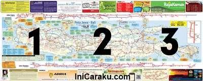 Download Peta Mudik Jawa, Sumatera, Bali 2012 Lengkap dan Terbaru
