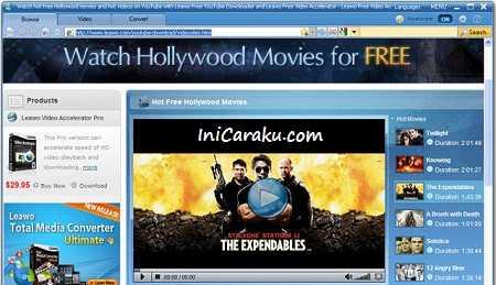 Download Leawo Free Video Accelerator - Software Untuk Mempercepat Membuka dan Nonton Video Online di Internet