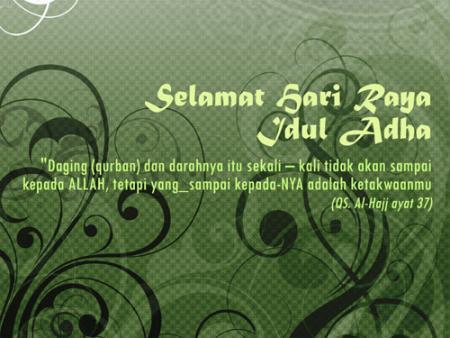 Kartu Ucapan Selamat Hari Raya Idul Adha - Idul Qurban