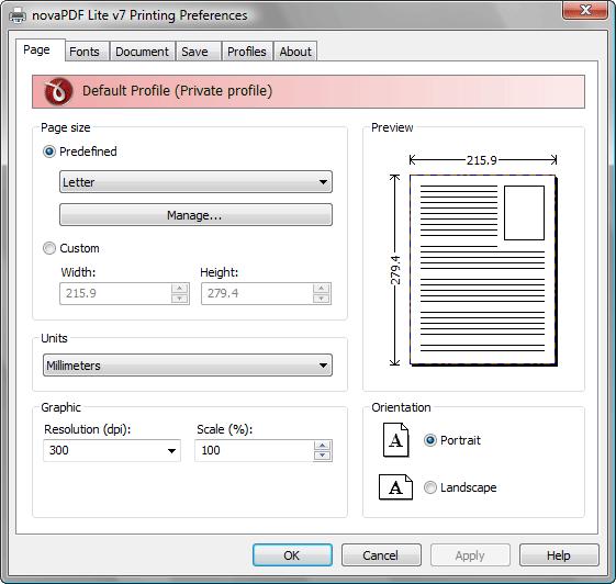 Free Registration Key novaPDF Lite v.7.6 Full Version