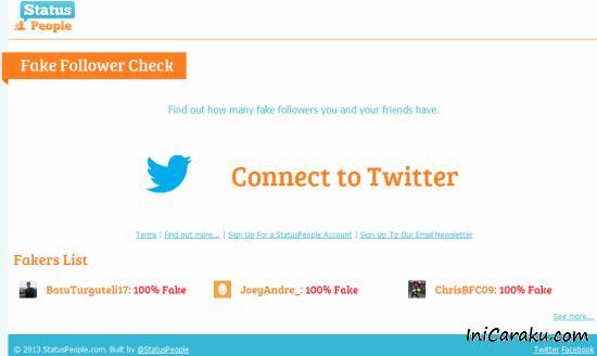 Cara Mengetahui Follower Twitter Real Asli Manusia Atau Fake (bot)