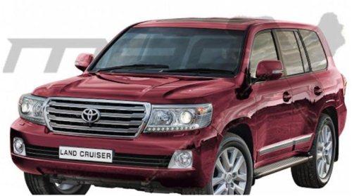 Gambar Mobil Toyota Land Cruiser LC200