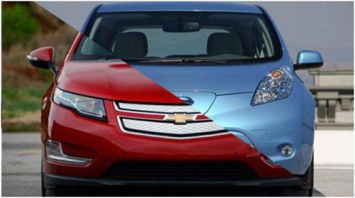 Gambar Nissan Leaf