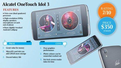Gambar Alcatel OneTouch Idol 3