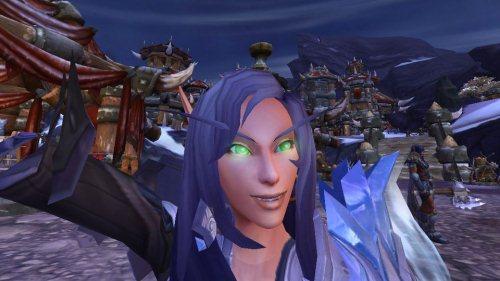 Gambar Foto Selfie di Game World of Warcraft
