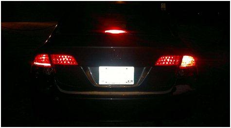 Gambar Lampu Rem Mobil