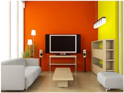 Gambar Contoh Paduan Warna untuk Interior Rumah