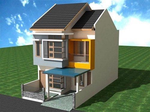 Gambar Desain Rumah Minimalis Bertingkat