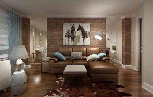 Gambar desain warna untuk interior rumah