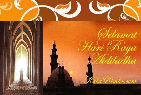Gambar Kartu Ucapan Selamat Hari Raya Idul Adha dan Berkurban