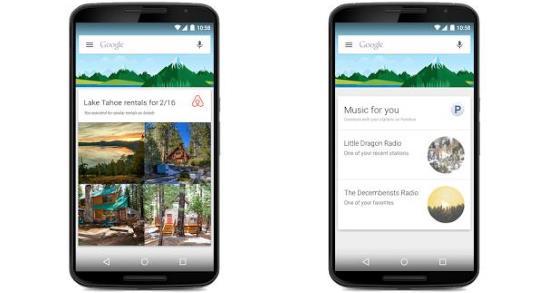 Gambar Aplikasi Google Now di Android
