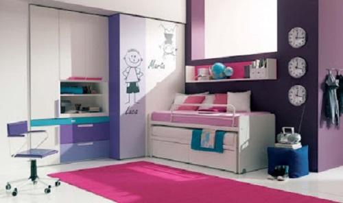 Gambar Desain interior kamar Simpel dan sederhana