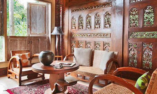 Gambar Contoh Interior Rumah Adat Khas Jawa