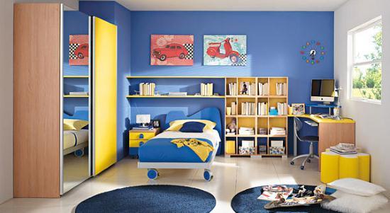 gambar desain kamar tidur anak laki-laki