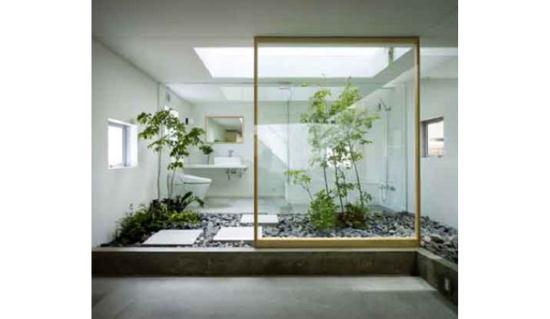 Gambar taman interior rumah minimalis