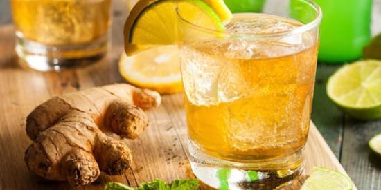 Gambar Resep Minuman Sehat Es Jahe untuk Mengusir Gejala Sakit Flu
