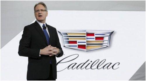 Johan de Nysseched, wakil presiden eksekutif General Motors