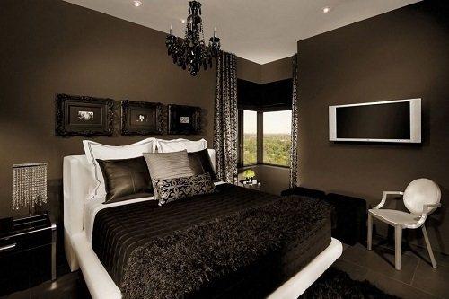 Gambar Desain Interior Kamar Tidur yang Mewah