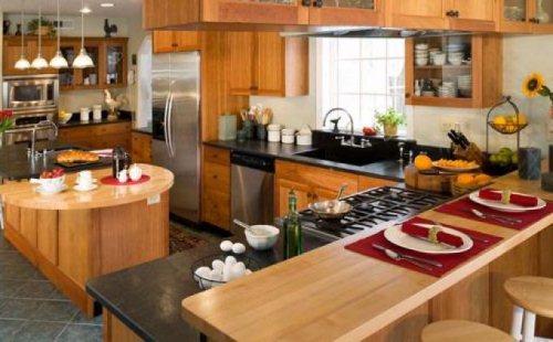 Gambar Contoh Desain Interior Dapur Multifungsi