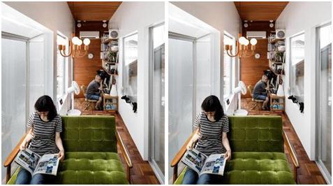 Rumah Unik Tomoya dan Naomi Sato