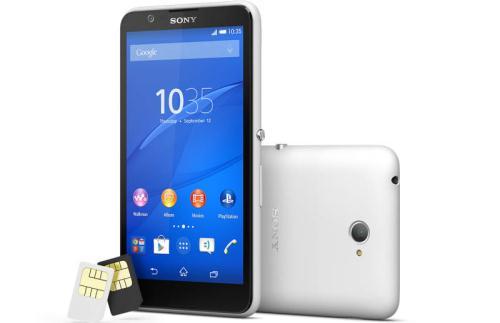 Gambar Sony Xperia E4 Dual SIM