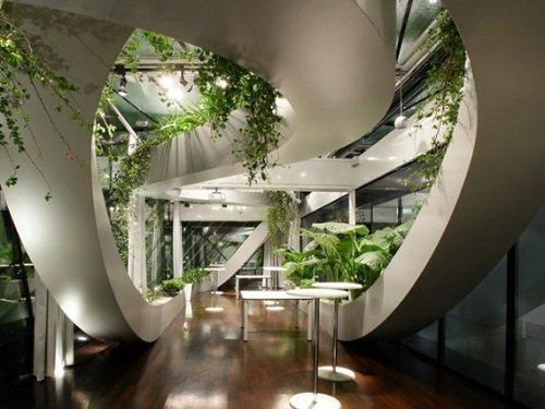 Gambar Taman Minimalis dalam Rumah
