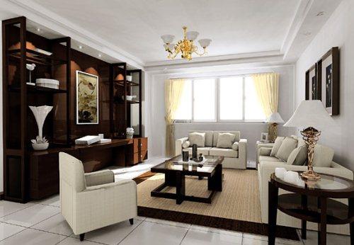 Gambar Ruang Tamu Sekaligus Ruang Keluarga untuk Rumah Minimalis