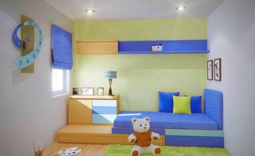 Gambar Desain Interior untuk Kamar Minimalis Anak