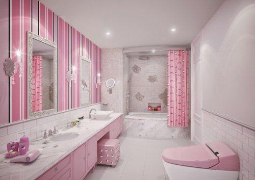 Gambar kamar mandi minimalis namun terlihat mewah