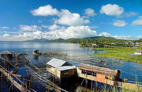 Gambar Lokasi Wisata Danau Tondano di Kota Manado