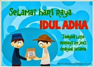 Gambar gambar kartu Ucapan Hari raya Idul Adha