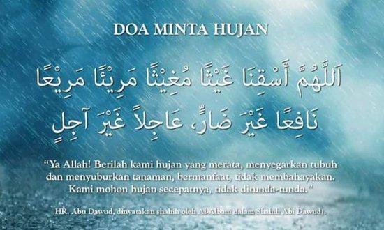 Gambar Doa Minta Hujan