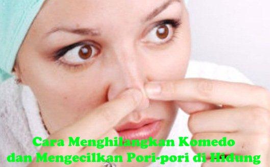 Gambar Cara Menghilangkan Komedo di Hidung