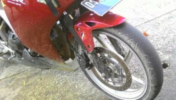 Gambar Sepeda Motor yang Sudah Gundul