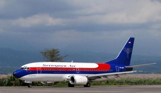 Gambar Ilustrasi Pesawat Sriwijaya Mendarat di Bandara Pasir Mayang Muara Bungo