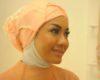 Gambar Wanita Berwajah Bulat Memakai Hijab atau Kerudung