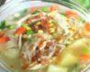 Gambar Sajian Sup Ayam Penghangat Badan