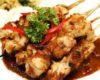 Gambar Sate Ayam Bumbu Kacang