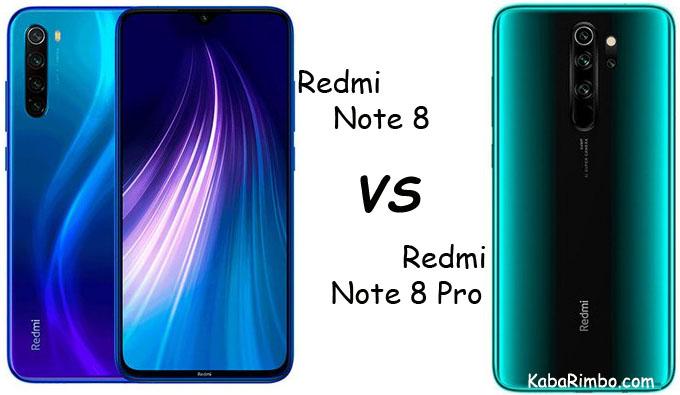 Perbedaan Xiaomi Redmi Note 8 dan Redmi Note 8 Pro